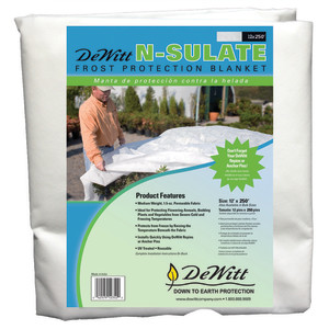 DeWitt N-Sulate Frost Protection Blanket Dewitt White 1ea/12Ftx250 ft
