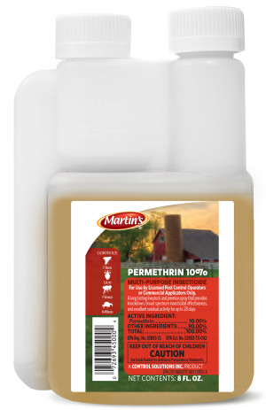 Control Solutions Permethrin 10% Insecticide Concentrate 12ea/8 fl oz