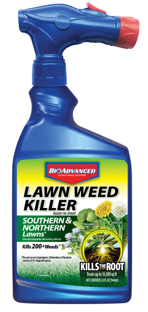 BioAdvanced Lawn Weed Killer South & North Lawn 8ea/32 fl oz