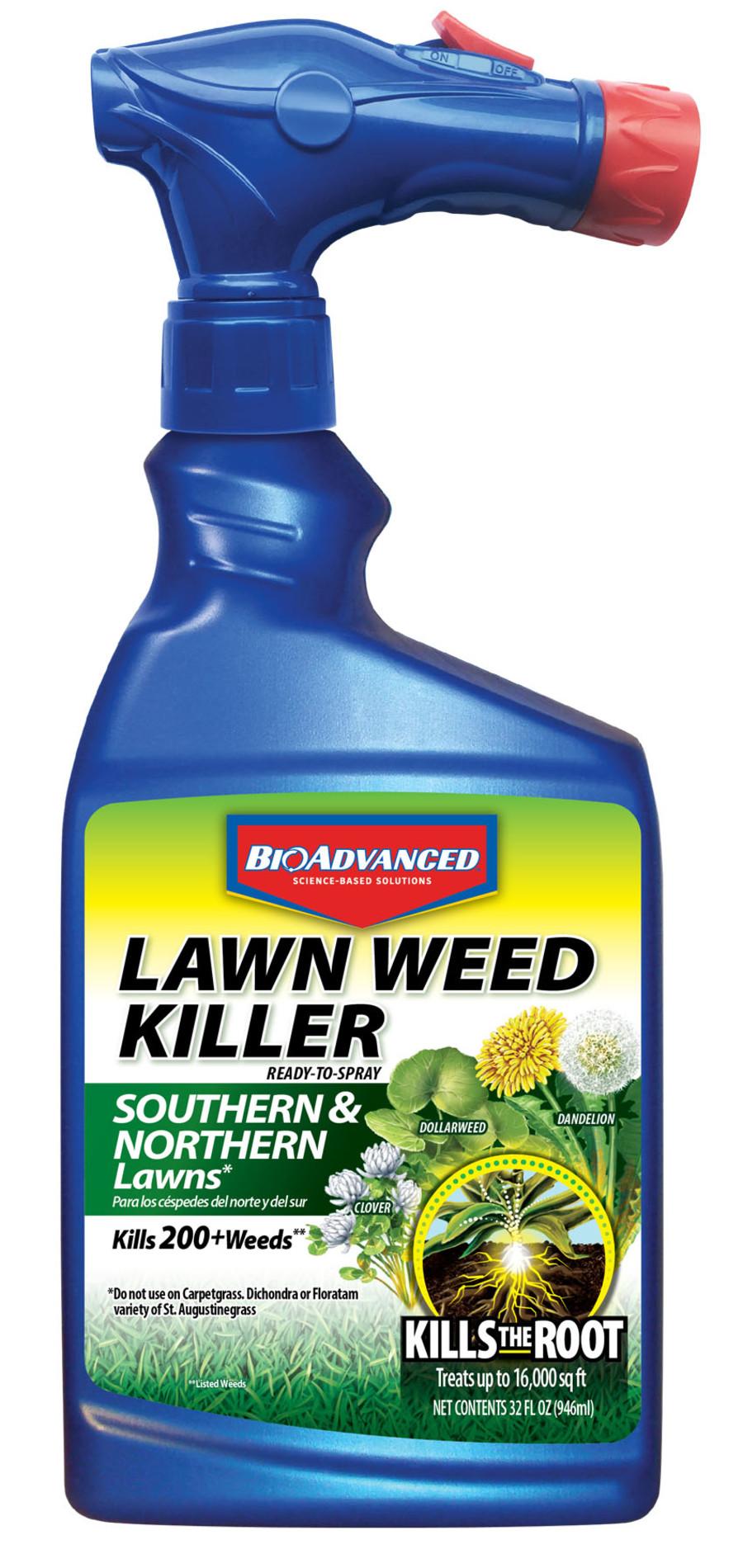 BioAdvanced Lawn Weed Killer South & North Lawn Ready to Spray 8ea/32 fl oz
