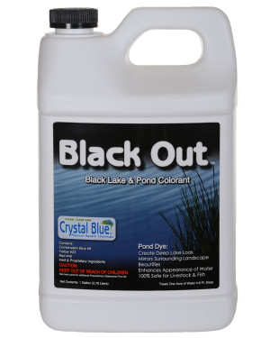 Sanco Black Out Lake And Pond Colorant 4ea/1 gal