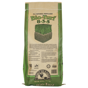 Down To Earth Bio-Turf Natural Fertilizer 8-3-5 OMRI 1ea/25 lb