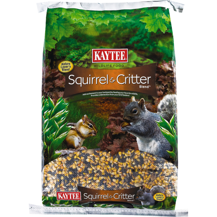 Kaytee Squirrel & Critter Blend Wildlife Food 2ea/20 lb