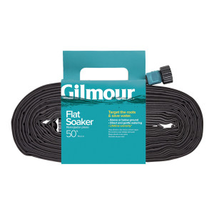 Gilmour Flat Weeper/Soaker Hose in Shelf Display Black 12ea/50 ft