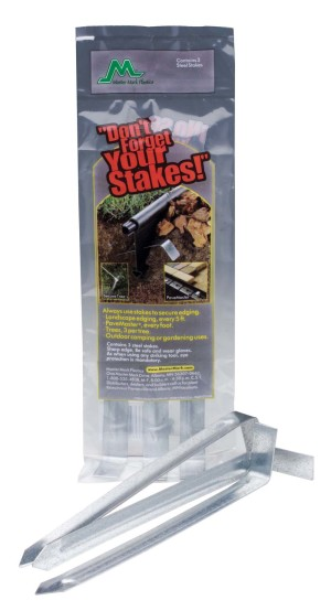 Master Mark Steel Stakes Anchor Kit 18ea/3Pk 10 in