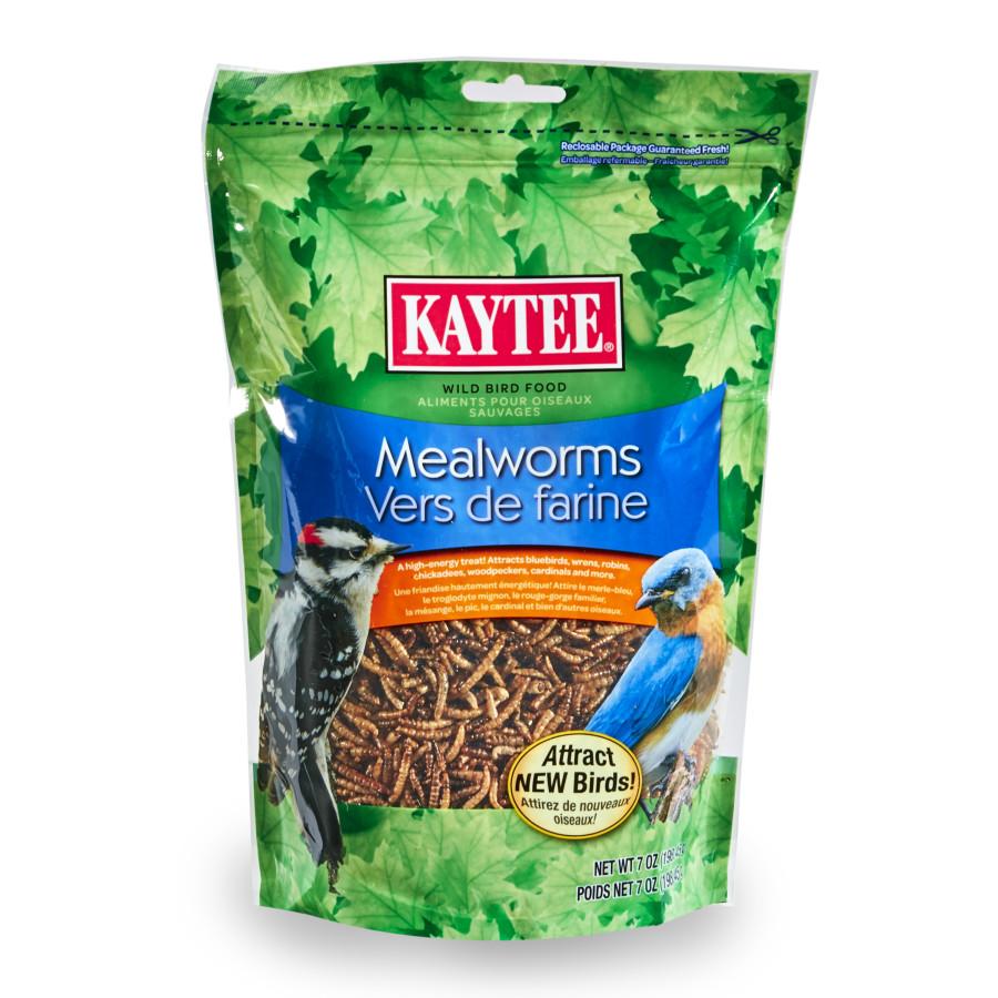 Kaytee Mealworm Food Pouch 6ea/7 oz