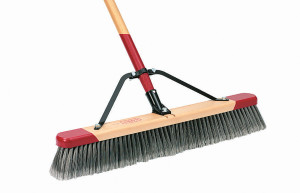 Harper Brush Smooth Push Broom 4ea/24 in