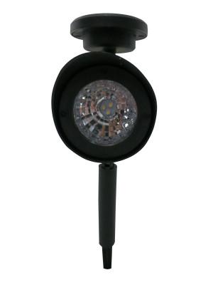 Alpine Solar Spotlight Pathway Garden Stake LED Light Black 12ea/One Size