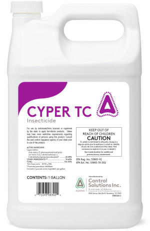 Control Solutions Cyper TC Insecticide Concentrate 4ea/1 gal