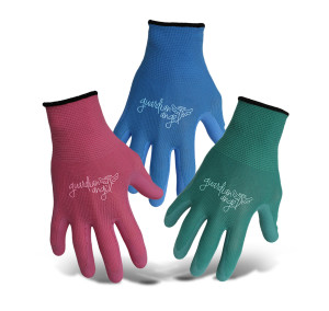Boss Ladies Guardian Angel® Nylon Knit Glove Sm Green Blue & Fuchsia 12ea/Small