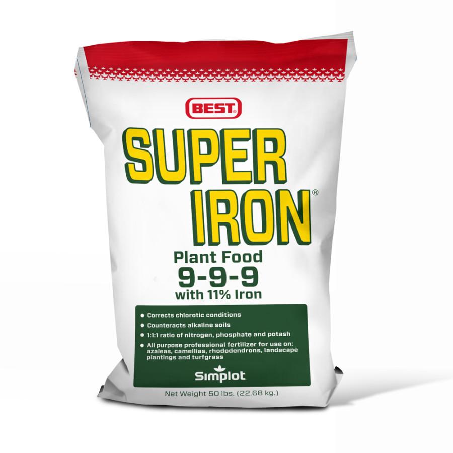 Best Super Iron Fertilizer 1ea/9-9-9 50 lb