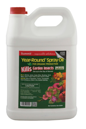 Summit Year-Round Spray Oil Kills Garden Insects 4ea/1 gal