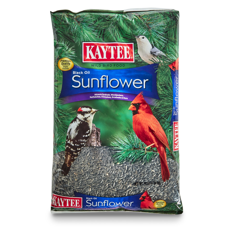 Kaytee Black Oil Sunflower Food 3ea/10 lb