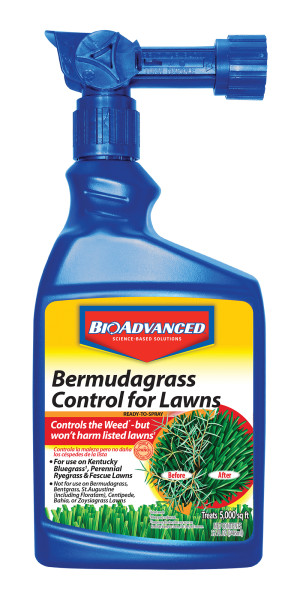 BioAdvanced Bermudagrass Control for Lawns Ready To Spray 8ea/32 oz