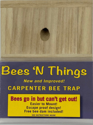 Bees N Things Hanging Bee Trap Quarter Pallet Display 48ea
