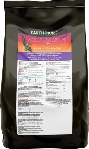 Earth Juice Solution Grade 0-8-0 Rock Phosphate 9ea/5 lb