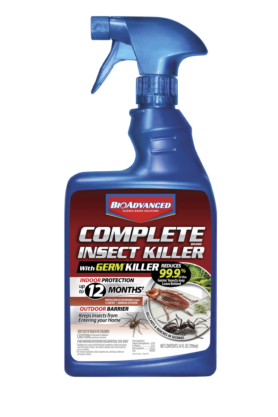 BioAdvanced Complete Insect Killer with Germ Killer Ready to Use 12ea/24 oz