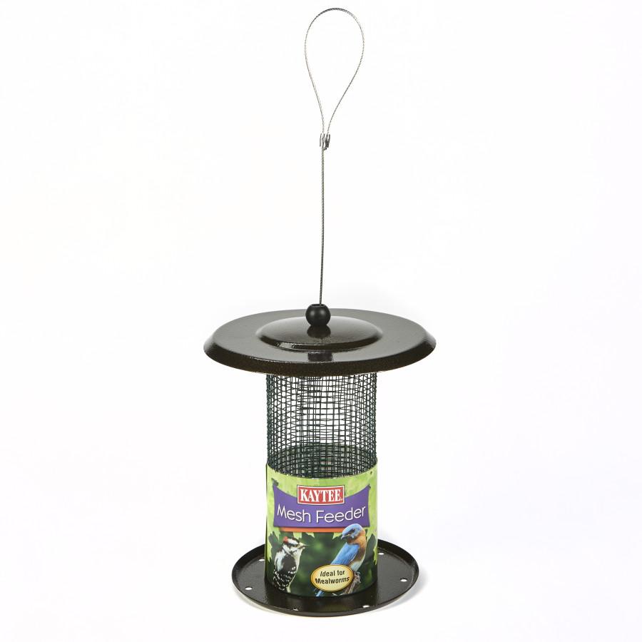 Kaytee Wild Bird Mealworm & Nut Mesh Feeder 4ea/6.7 in X 6.7 in X 7.3 in