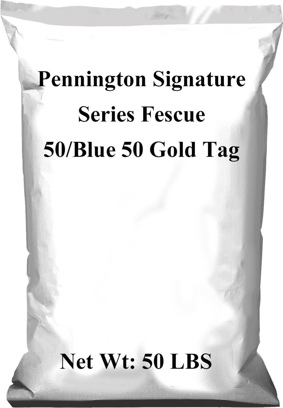 Pennington Signature Series Fescue 50/Blue 50 Gold Tag 1ea/50 lb