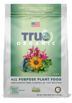 True Organic Products Inc. All Purpose Plant Food 6ea/4 lb
