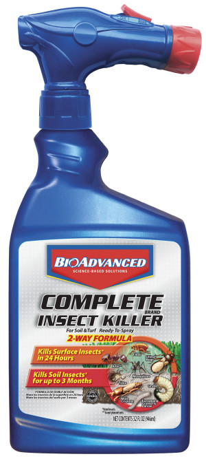 BioAdvanced Complete Insect Killer for Soil & Turf 8ea/32 oz
