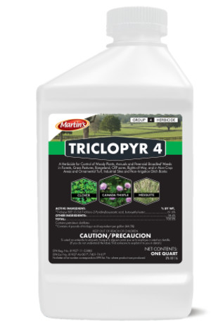 Control Solutions Martins Triclopyr 6ea/4 qt
