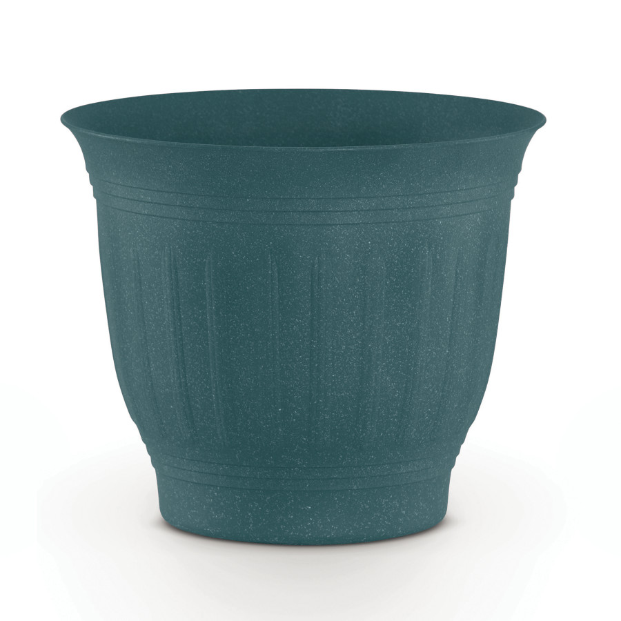 Bloem Colonnade Planter Wood Resin Forest Green 6ea/16 in