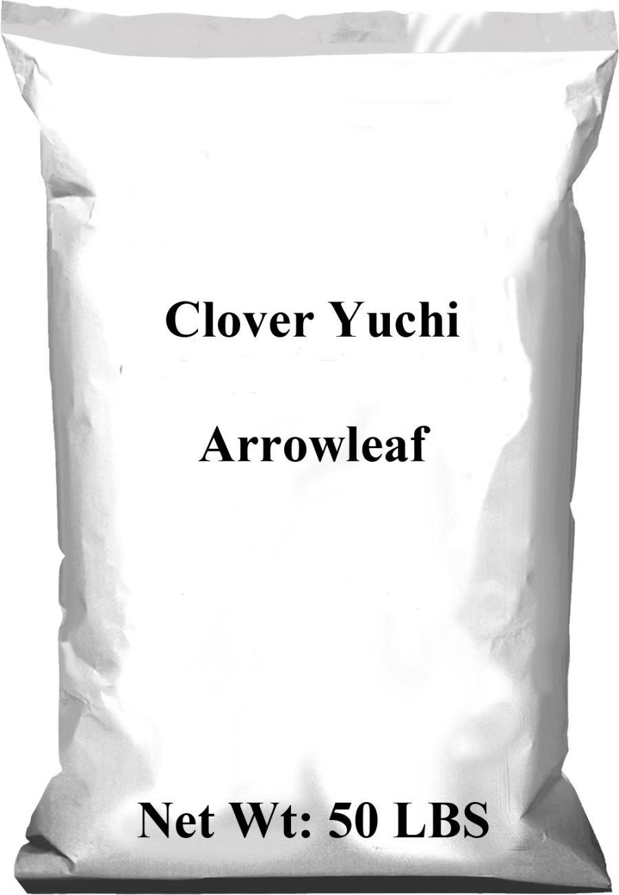 Pennington Clover Yuchi Arrowleaf Uncoated 1ea/50 lb