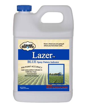 Sanco Liquid Harvest Lazer™ Blue Spray Pattern Indicator Marker Blue 4ea/1 gal