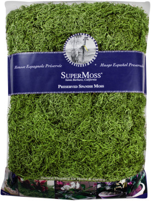 Supermoss Spanish Moss Preserved Grass 10ea/32 oz