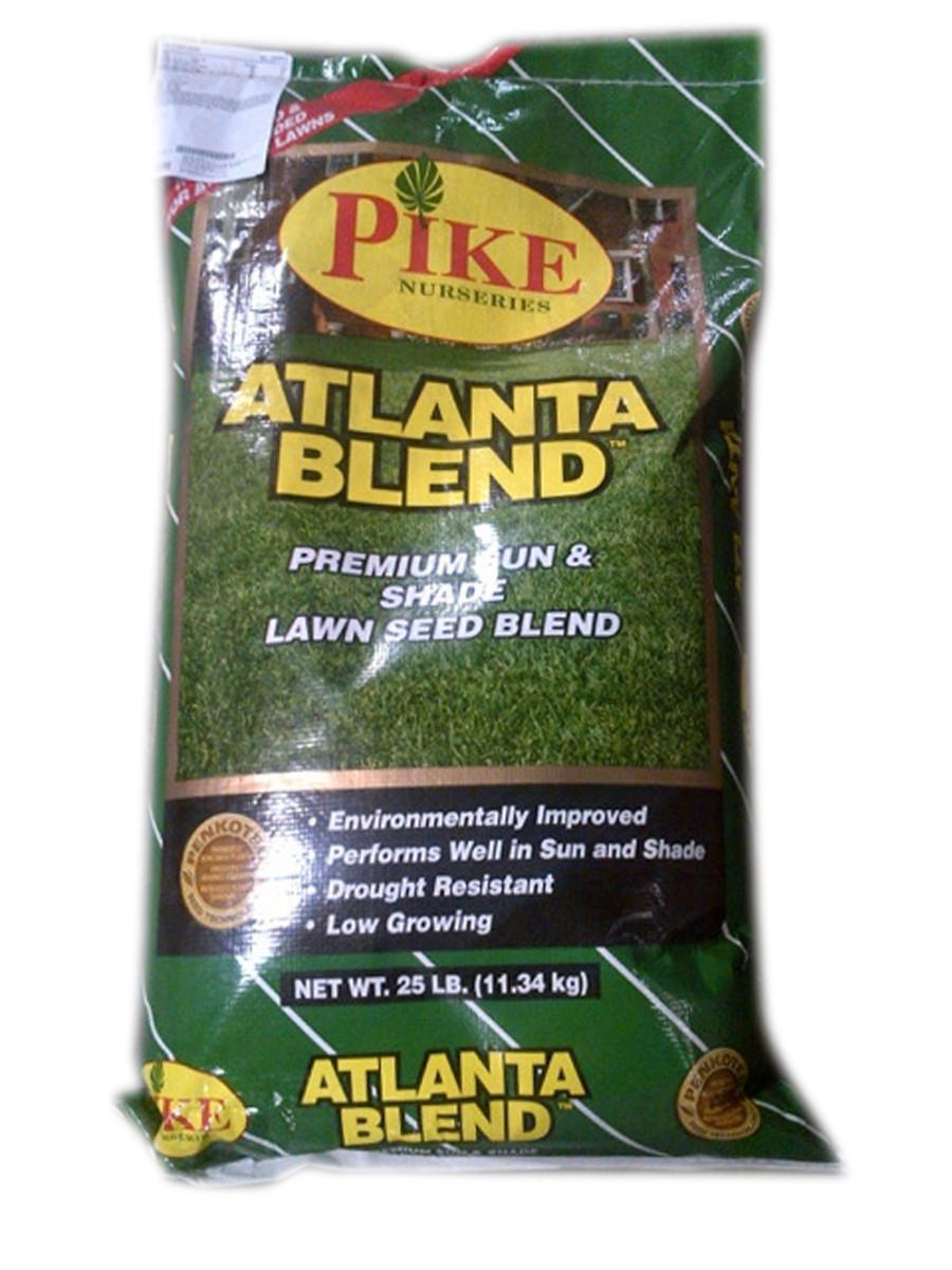 Pennington Pike Atlanta Tall Fescue Blend 1ea/25 lb