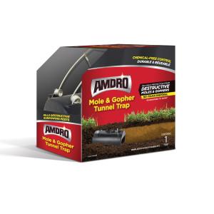Amdro Mole & Gopher Tunnel Plastic Trap Contains 1 Trap 2ea/1 Trap