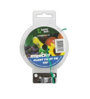 Luster Leaf Rapiclip Plant Twist Tie Green 12ea/100 ft