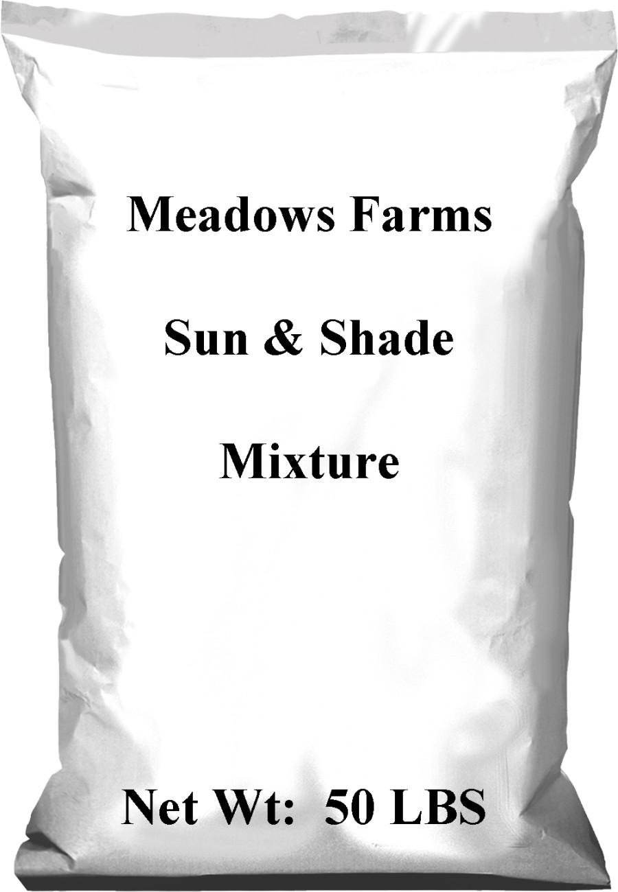 Pennington Meadows Farms Sun & Shade Mixture 1ea/50 lb