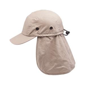 Goldcoast Sunwear Legion Flap Hat Sand 6ea/Adjustable