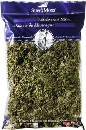 Supermoss Mountain Moss Dried Natural Green Sphagnum