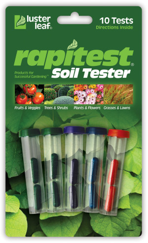 Luster Leaf Rapitest Soil Tester Assorted 12ea/10 pk