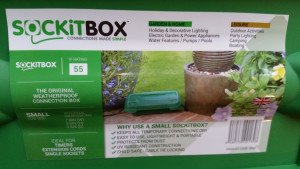 SOCKiTBOX Weatherproof Powercord Connection Box Green 10ea/Small