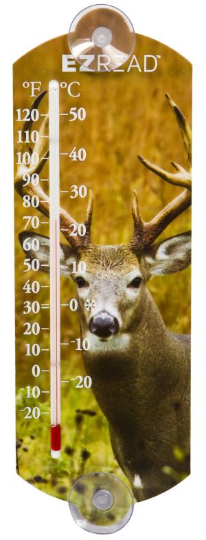 E-Z Read Buck Thermometer 1ea/10 in