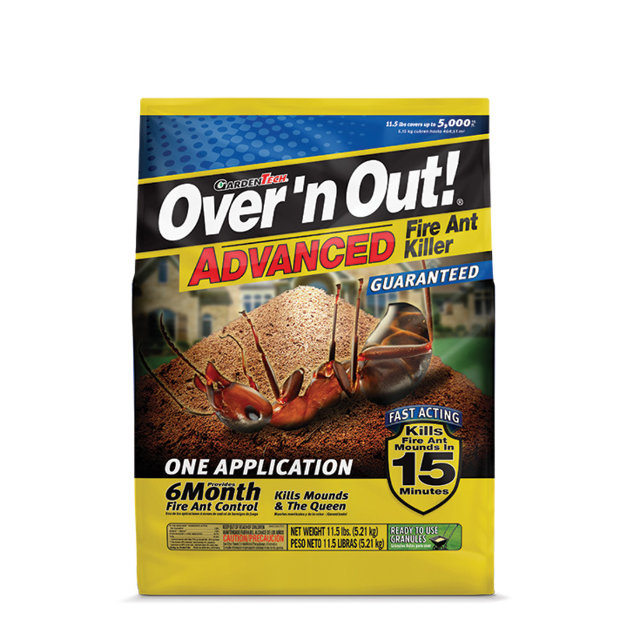 Over 'n Out Advanced Fire Ant Killer Granules 4ea/11.5 lb
