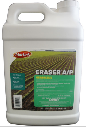 Control Solutions Eraser Weed Killer 41% Concentrate 2ea/2.5 gal