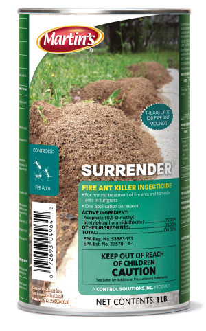 Control Solutions Martin's Surrender Fire Ant Killer Insecticide Gran 12ea/1 lb