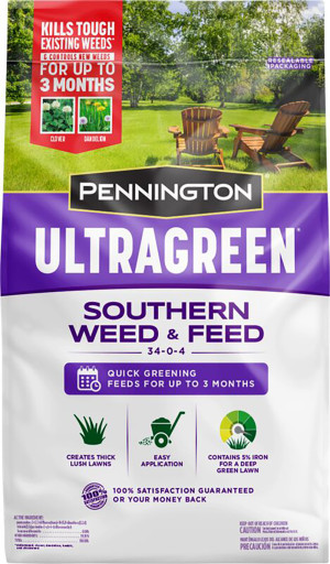 Pennington Ultragreen Southern Weed & Feed 34-0-4 1ea/10M 25 lb