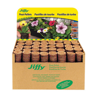 Jiffy 7 Peat Pellets Refills 1000pk Bulk Display 1ea