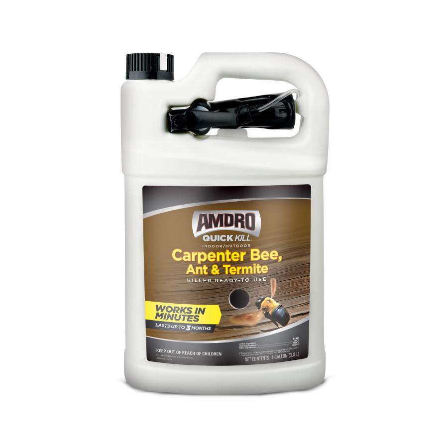 Amdro Quick Kill Carpenter Bee, Ant & Termite Killer Ready to Use Spray 4ea/1 gal