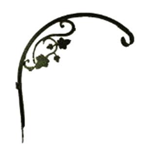 Panacea Kay Home Downturn Hanger With Vine Green 6ea/16In