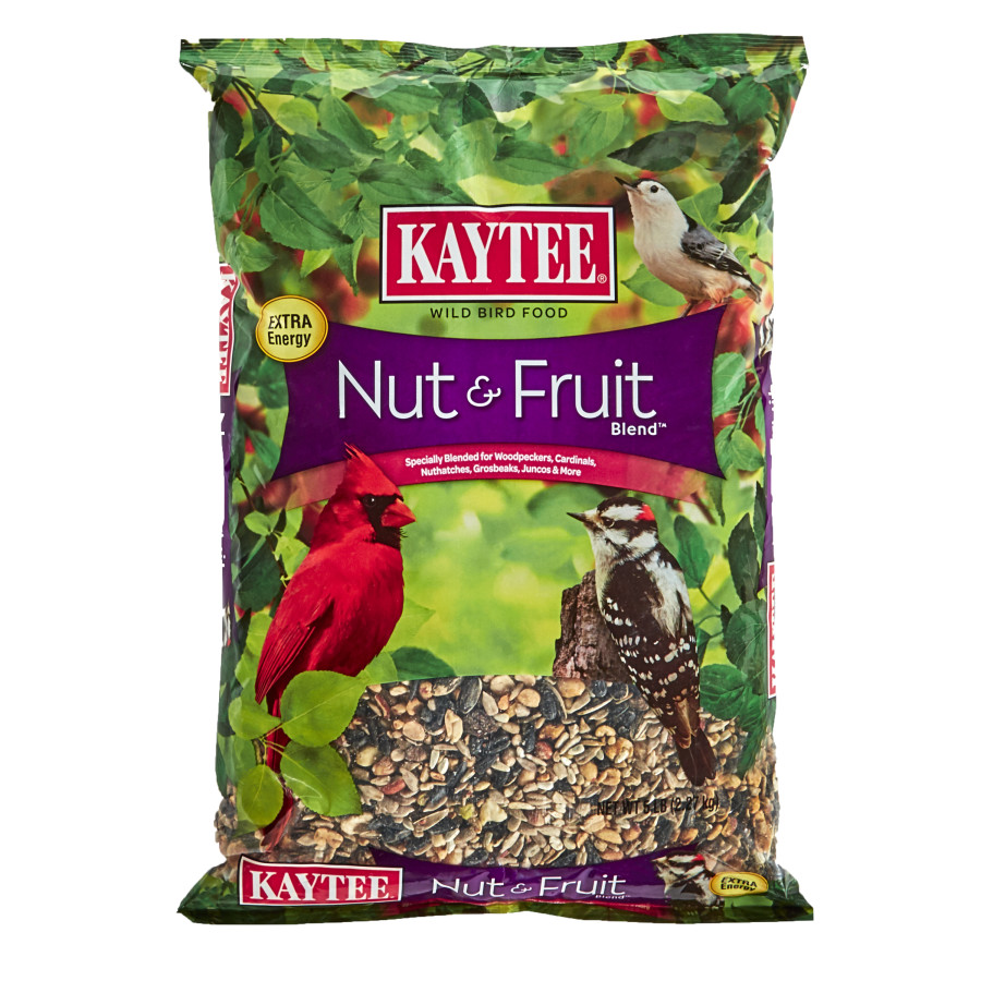 Kaytee Nut & Fruit Blend Food 6ea/5 lb