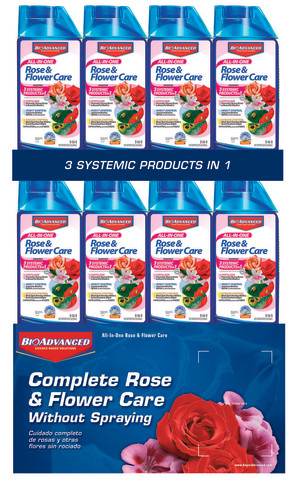 BioAdvanced All-In-One Rose & Flower Care Concentrate 48ea/32 fl oz