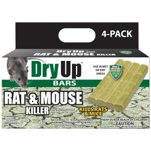 Harris Dry Up Bars Rat & Mouse Killer 4ea/64 oz