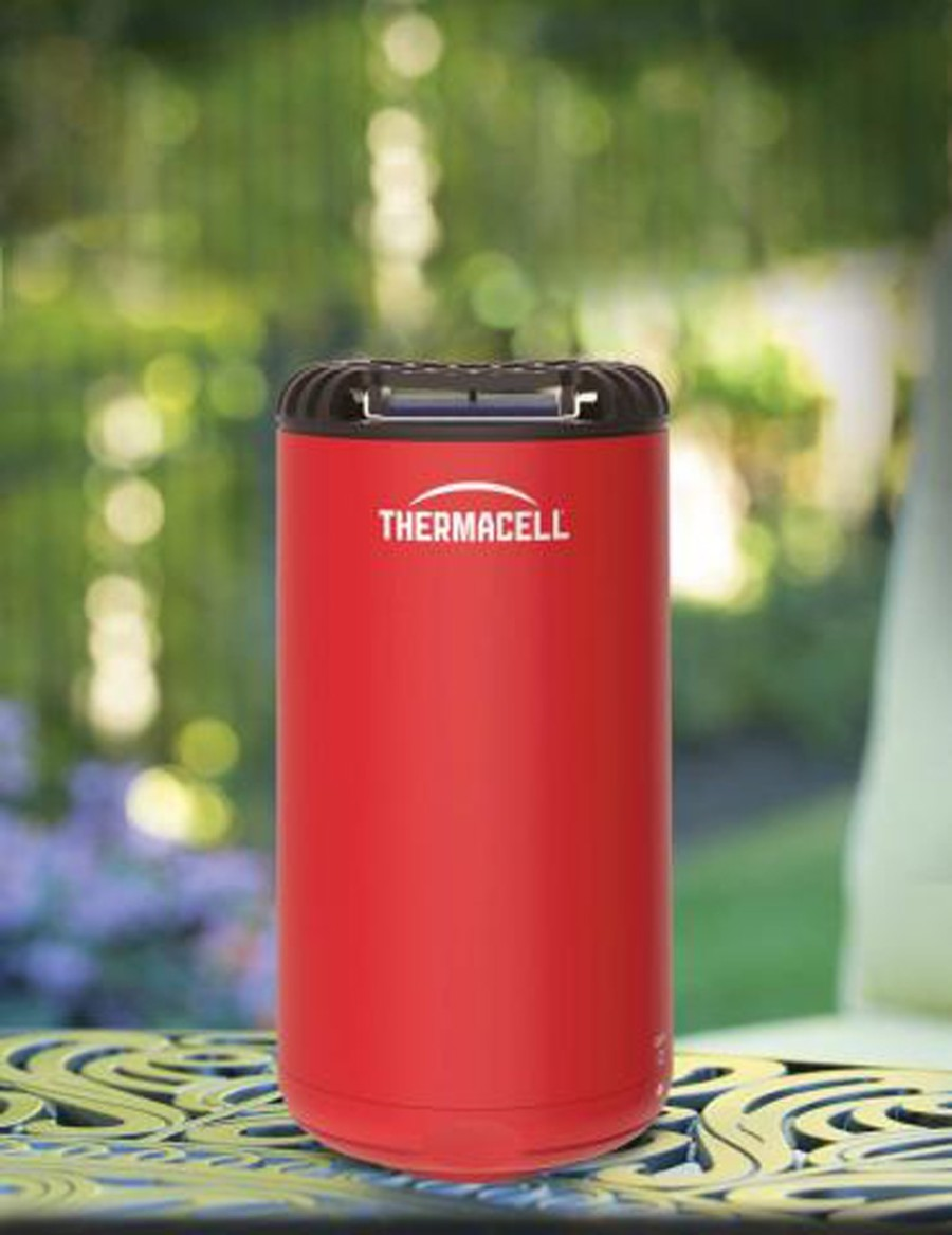 ThermaCELL Patio Shield Mosquito Repellent with Refills Red Mini Pallet 1ea